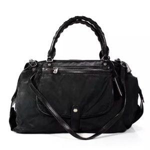 Gryson Olivia Convertible Satchel Handbag Black